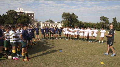 Tygerberg High School wins a Powerade Performance Session with former New Zealand rugby coach, John Mitchell