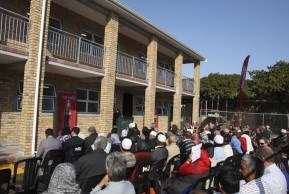 A stellar turn-out at the opening of Strand Moslem Primary's new classrooms