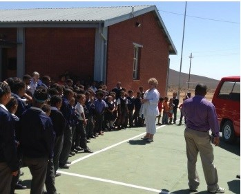 Middelpos Primary School and boarding house receive much-needed support