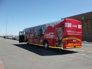 EduBus hits the road to educate small shop owners around the Western Cape on key business principles