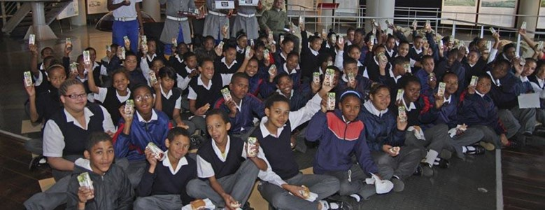 Learners from Elsies River School take a step back in time