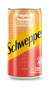Schweppes Tropical Sunset