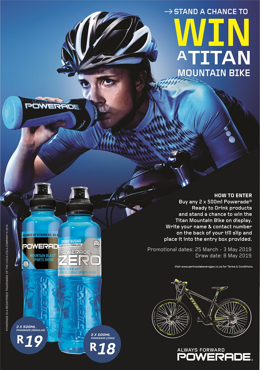 Engen Powerade Titan Mt Bike Promotion Rules