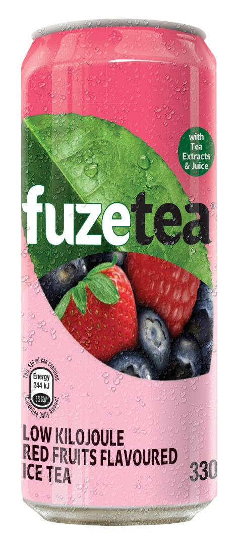 Fuze Tea Can Red Fruits