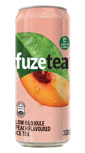 Fuze Tea Can Peach
